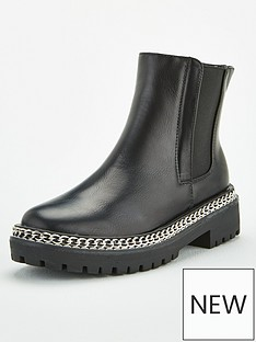 v-by-very-chain-trim-chunky-chelsea-boots-black