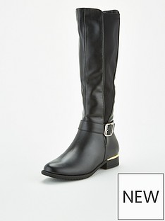 v-by-very-elastic-gusset-riding-boot