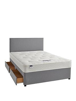 silentnight-miracoil-3-celine-tufted-ortho-divan-bed-with-storage-options-firm