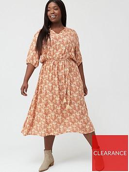 junarose-curve-layla-24-sleeve-midi-dress-multi