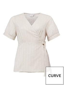junarose-nafua-short-sleeved-wrap-blouse-off-whitenbsp