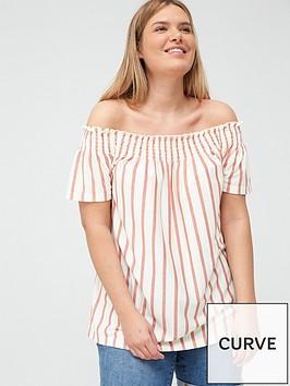 junarose-lila-24-off-the-shoulder-blouse-stripe