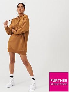 boohoo-boohoo-the-perfect-oversized-hooded-sweat-dress-camel
