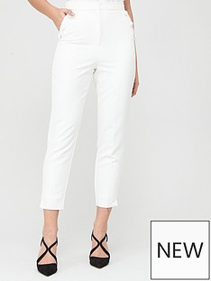 lavish-alice-button-detail-tapered-trousers-white