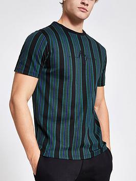 river-island-dogtooth-stripe-t-shirt