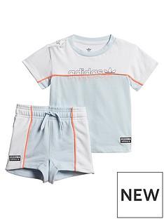 adidas-originals-infant-tee-andnbspshort-set-light-blue-white