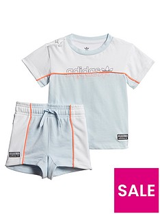 adidas-originals-infant-tee-andnbspshort-set-light-blue-white