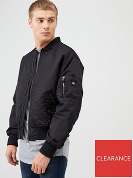 river-island-black-ma1-padded-bomber-jacket