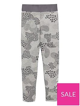 adidas-junior-girls-tights-khaki