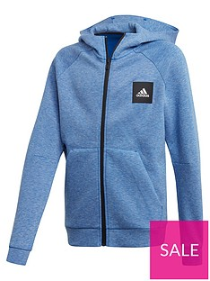 adidas-junior-boys-athletics-must-haves-full-zip-hoodie-blue