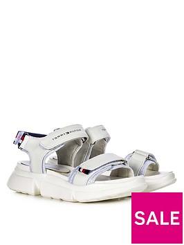 tommy-hilfiger-girls-velcro-sandals-white