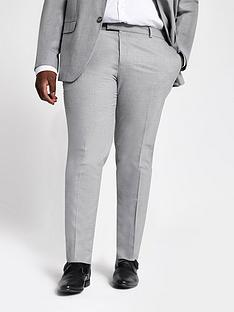 river-island-big-and-tall-textured-suit-trousers
