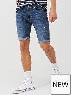 river-island-mid-wash-denim-shorts