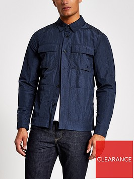 river-island-tech-pack-overshirt