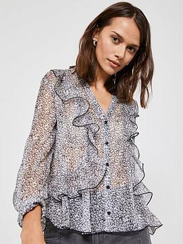 mint-velvet-floral-ditsy-button-through-ruffle-blouse-multi