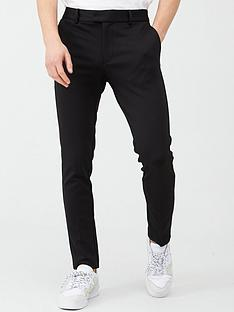 river-island-black-super-skinny-suit-trousers