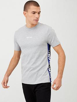 river-island-grey-marl-slim-fit-undefined-tape-t-shirt