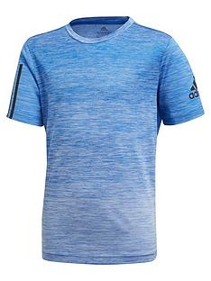 adidas-youth-boysnbsptraining-gradient-tee-blue