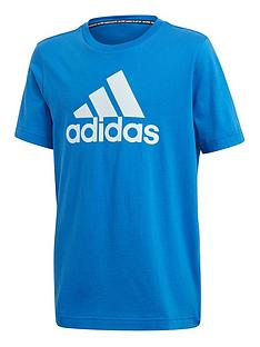 adidas-youth-must-havesnbspbadge-of-sports-tee-blue