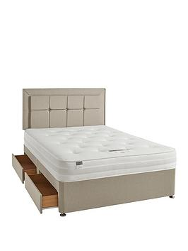 silentnight-paige-1400-ortho-divan-bed-with-storage-options-extra-firm