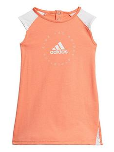 adidas-infant-girls-dress-orange