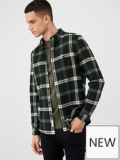 river-island-black-check-print-regular-fit-shirt