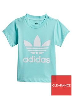 adidas-originals-infant-trefoil-tee-light-blue