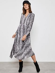 mint-velvet-mint-velvet-river-print-zip-front-trapeze-dress