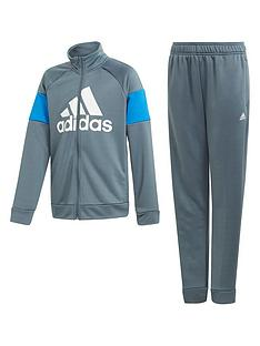 adidas-childrensnbspbadge-of-sport-tracksuit-navy