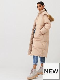 boohoo-boohoo-panelled-faux-fur-hood-padded-coat-caramel