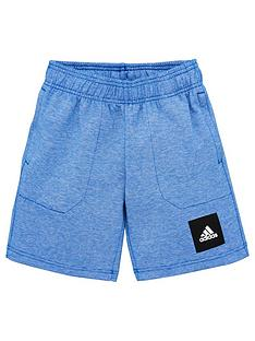 adidas-junior-boysnbspshorts-blue