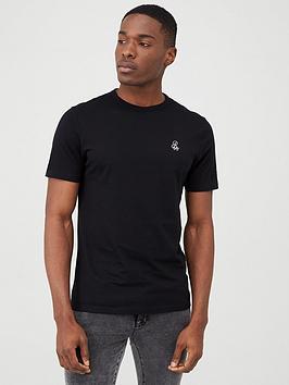 river-island-r96-black-short-sleeve-slim-fit-t-shirt