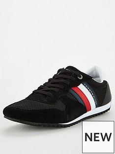 tommy-hilfiger-essential-mesh-runner-trainers-black