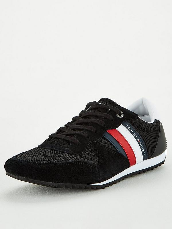 Buy Black Tommy Hilfiger Mesh Runner