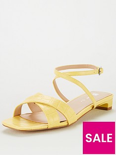 v-by-very-hekuba-wide-fit-square-toe-flat-sandals-yellow