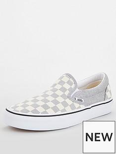 vans-ua-classic-checkerboard-slip-on-silverwhitenbsp