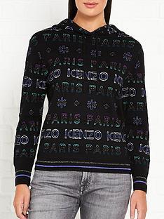 kenzo-all-over-logo-knit-jumper--black