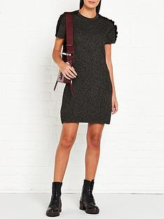 kenzo-knitted-dress-black