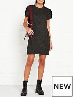 kenzo-knitted-dress-black