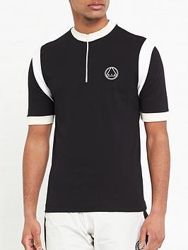 mcq-alexander-mcqueen-yoko-contrast-zipnbspshirt-black