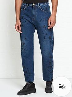 mcq-alexander-mcqueen-ben-painted-straight-leg-jeans--nbspblue