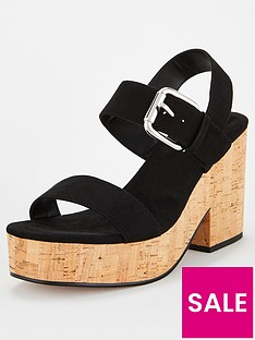 v-by-very-damsey-twin-strap-buckle-wedge-sandal-black