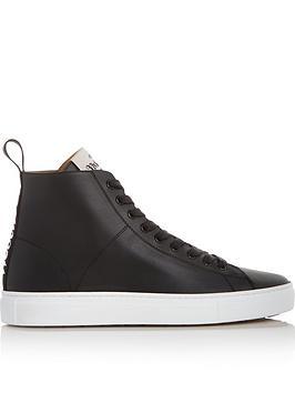 vivienne-westwood-logo-high-top-leather-tennis-trainers-black