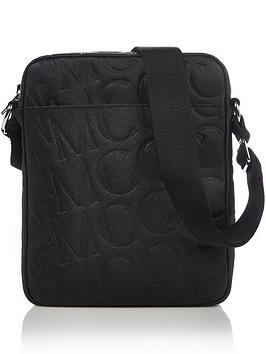 mcq-alexander-mcqueen-mens-logo-embossed-leather-cross-body-bag-blacknbsp