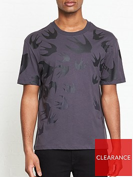mcq-alexander-mcqueen-fading-swallow-swarm-print-t-shirt-grey