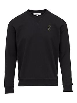 mcq-alexander-mcqueen-swallow-embroidered-sweatshirt-black
