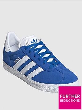 adidas-originals-juniornbspgazelle-trainers-blue