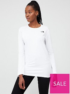 the-north-face-long-sleeve-simple-dome-t-shirtnbsp-whitenbsp