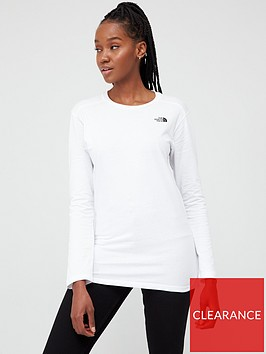 the-north-face-long-sleeve-simple-dome-t-shirtnbsp-whitenbsp
