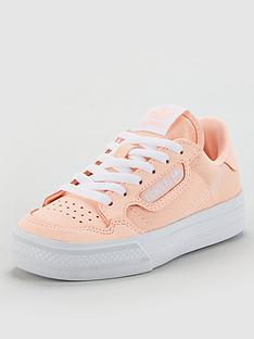 adidas-originals-continental-vulc-childrens-trainers-orange
